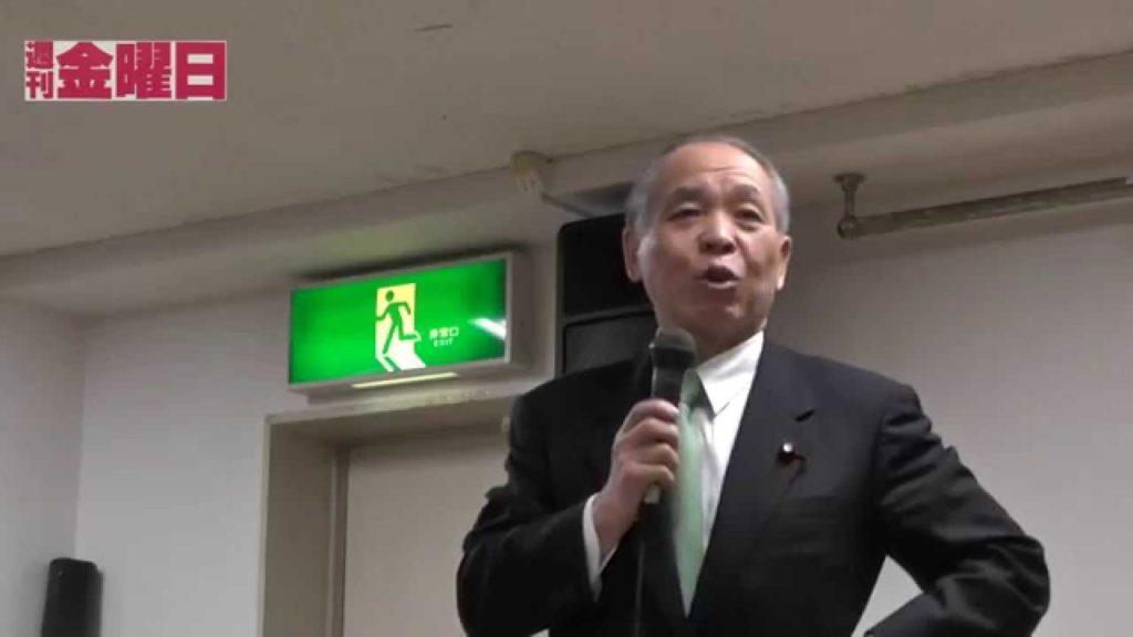 鈴木宗男さん(新党大地 代表)講演