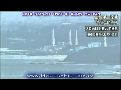 Giant UFO Seen Above Fukushima Nuclear Reactor On Live Television Report