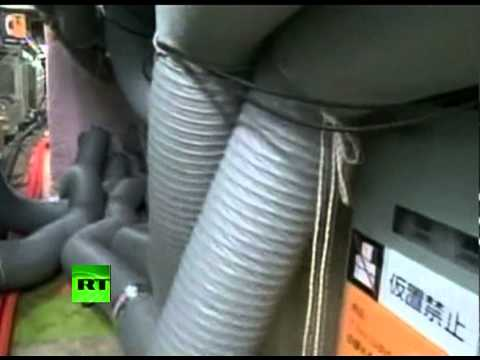 TEPCO video of 1st people inside Fukushima reactor since disaster