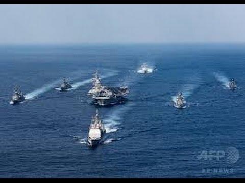 北朝鮮の挑発行為に対応!米・空母カール・ビンソン・・朝鮮半島近海へ移動・・?!