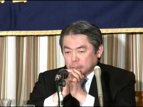 記者会見にて福島原発破壊計画を質問するベンジャミン・フルフォード