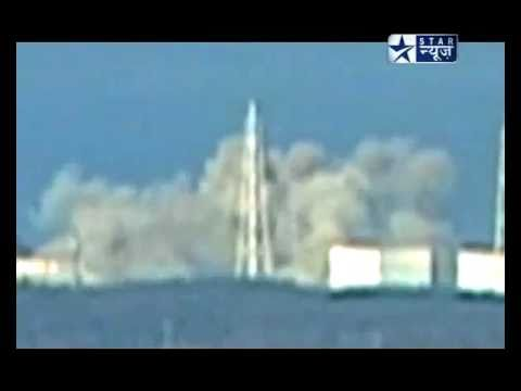 Fukushima Third Explosion Nuclear Power Plant Reactor 2 on March 14, 2011