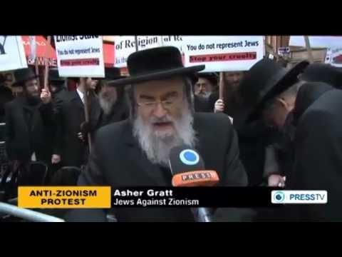 イギリスの正統派ユダヤ人がイスラエル・シオニズムに抗議 #zionism