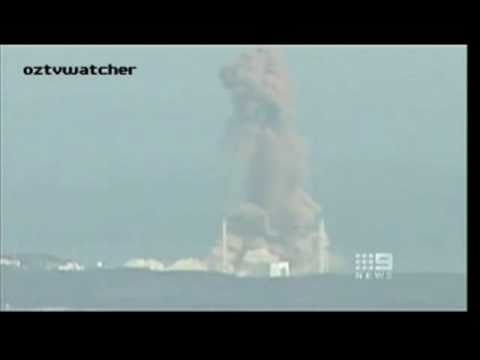 Reactor 3 Nuclear Explosion at Fukushima Daiichi Nuclear Power Plant