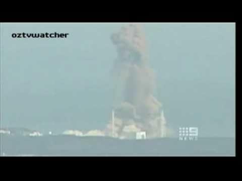 Reactor 3 Nuclear Explosion at Fukushima Daiichi Nuclear Power Plant