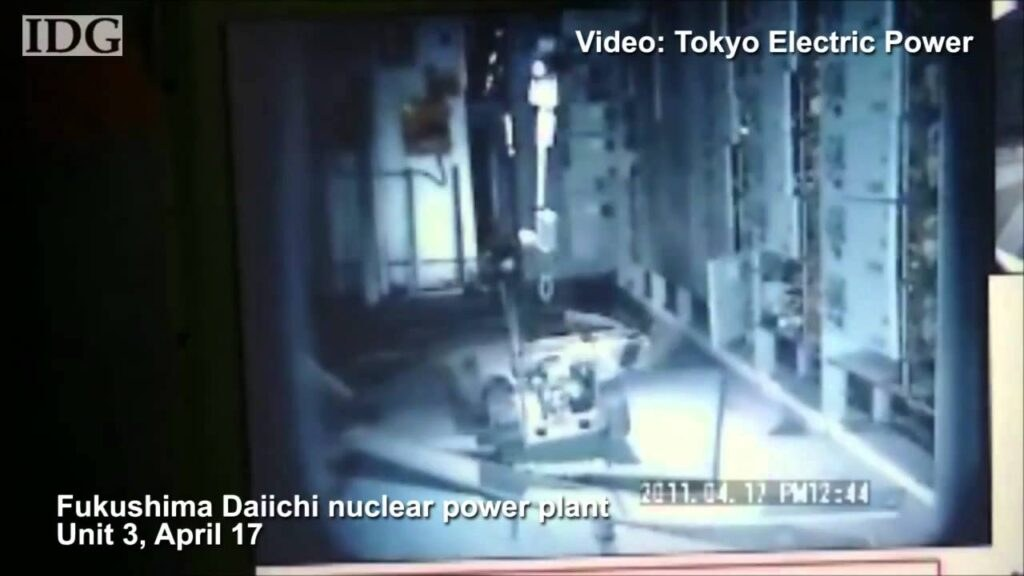 Robots show inside Fukushima reactor buildings
