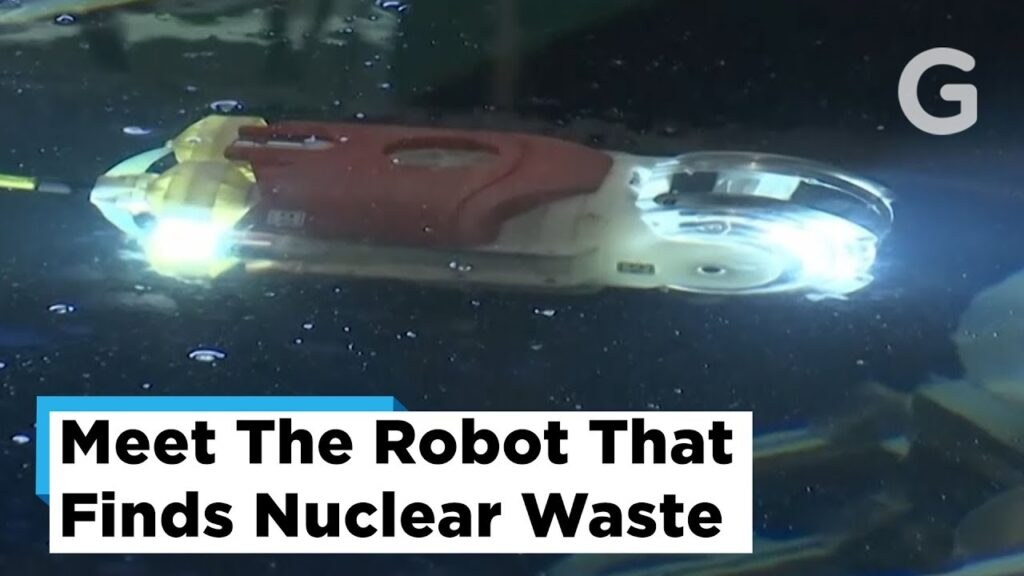 Robot Explores Fukushima Power Plant