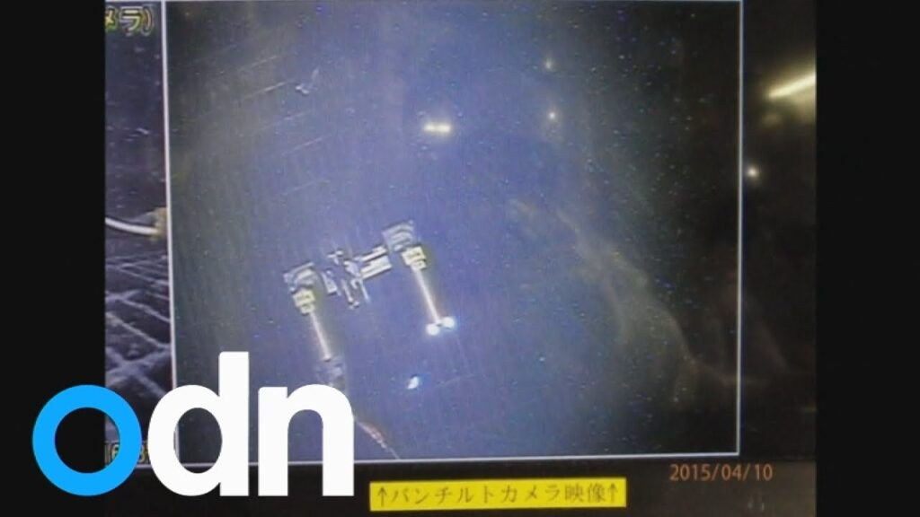 Footage from a robot sent inside Fukushima's reactor