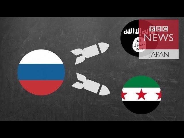 """【BBC】敵の敵は""""敵""""? シリアでは誰が誰と戦っているのか"""