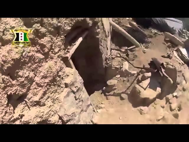 シリア戦争ヘルメットカムファイト映像軍ビデオ