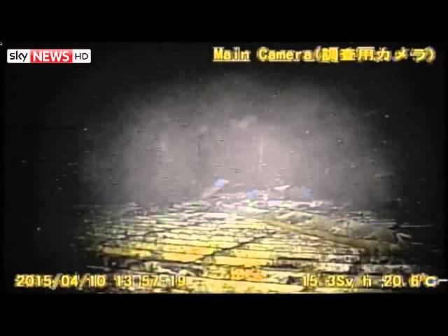 Inside Fukushima Nuclear Reactor