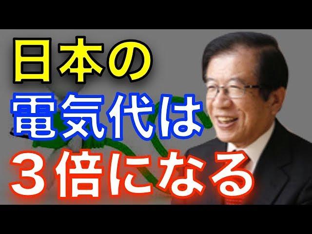 【武田邦彦】『無意味な実験』このままでは日本の電気代は3倍になります!