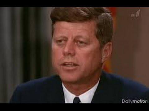 衝撃事実!!J・F・ケネディ大統領!世界を救った!!閲覧注意!驚愕!