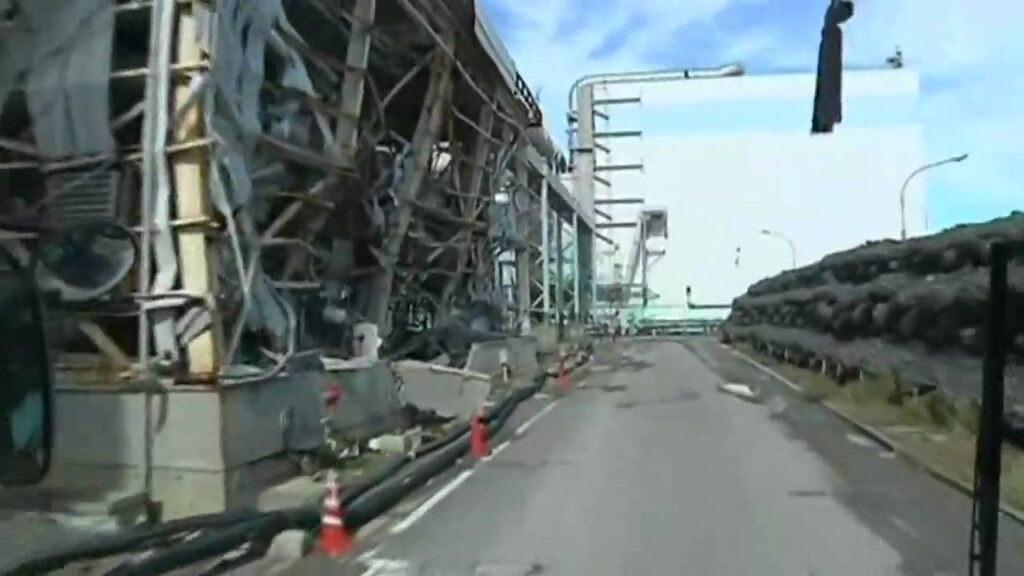 Radioactive! A look inside Japan's damaged Fukushima nuclear reactor
