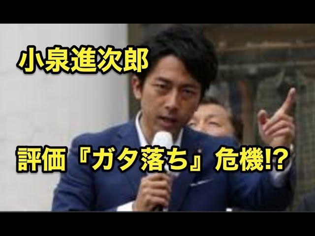 小泉進次郎氏・・評価『ガタ落ち』危機!?泥をかぶるのを嫌った!?