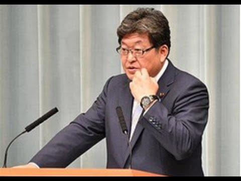 加計学園問題・・『面会記録が残っていない・・』萩生田官房副長官が前川氏の証言否定!!