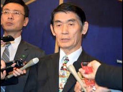 安倍総理・・今村復興大臣の・・辞表を受理!!