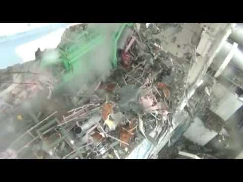 Scary video of reactor 4 Fukushima