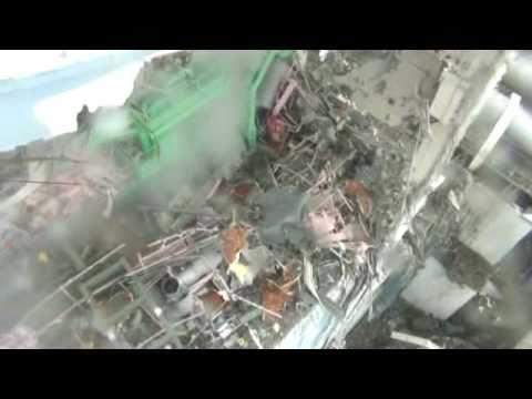 Scary video of reactor 4 Fukushima