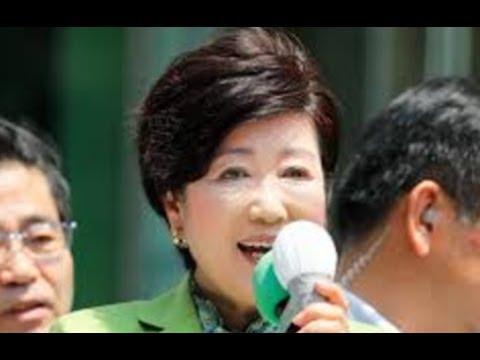 都民ファーストの会と自民党・・支持減らし合って競い合う・・東京都議選世論調査!!