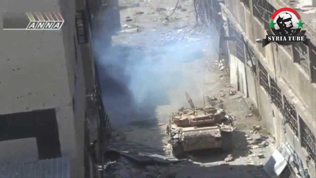 シリア内戦  T-72 市街戦