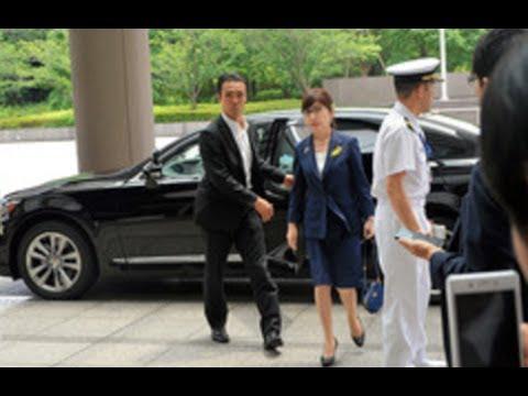 稲田防衛相・・豪雨対応中に一時不在・・!?『政務』理由に・・