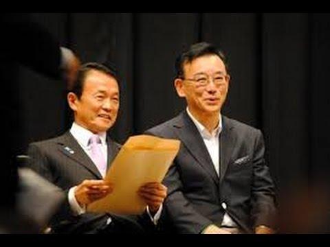 谷垣自民党前幹事長!!麻生副総理に手紙・・?!同志の顔を見て議論する必要あり・・?!