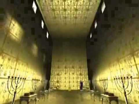 シオニストたちのソロモン神殿建設計画 3D映像 イスラエル