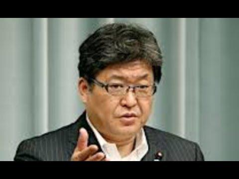 萩生田官房副長官・・『難癖というのが正直な思い』加計問題めぐり・・